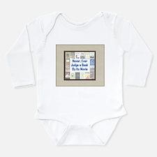 Book vs. Movie Long Sleeve Infant Bodysuit