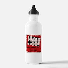 Crossword 1 Water Bottle