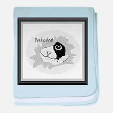 Peek-a-Boo baby blanket