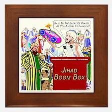Bask In Glory of Prayer Framed Tile