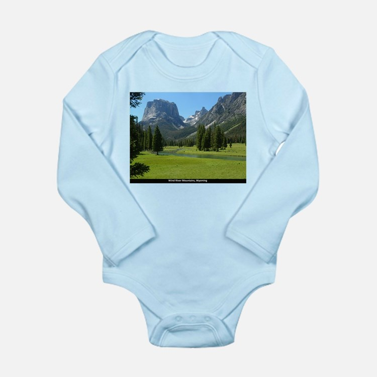 Lake Trio Long Sleeve Infant Bodysuit