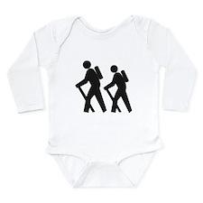 Hiking2 Long Sleeve Infant Bodysuit