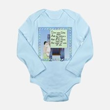Wise Men Rhyme Long Sleeve Infant Bodysuit