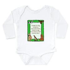 Groucho Long Sleeve Infant Bodysuit