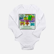 Yard Sales Long Sleeve Infant Bodysuit