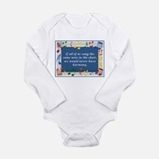 Harmony Long Sleeve Infant Bodysuit