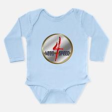 Speeders Long Sleeve Infant Bodysuit