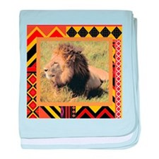 Lion #2 baby blanket