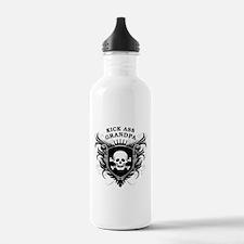 Kick Ass Grandpa Water Bottle