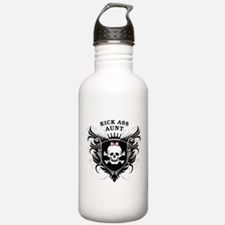 Kick Ass Aunt Sports Water Bottle