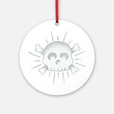 Sailor Jerry Skull Ornament (Round)