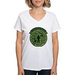 Georgia Sheriff Women's V-Neck T-Shirt