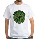 Georgia Sheriff White T-Shirt