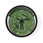 Georgia Sheriff Wall Clock