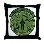 Georgia Sheriff Throw Pillow