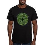 Georgia Sheriff Men's Fitted T-Shirt (dark)