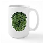 Georgia Sheriff Large Mug