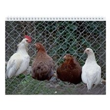 Chicken Wall Calendar