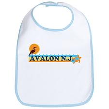 Avalon NJ - Beach Design Bib