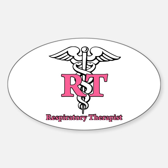 Respiratory Therapist Sticker (Oval)
