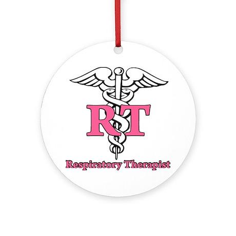 Respiratory Therapist Ornament (Round)