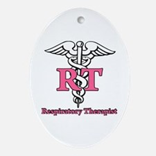 Respiratory Therapist Ornament (Oval)