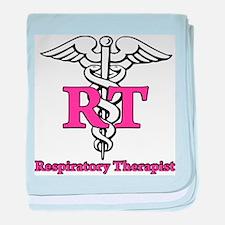 Respiratory Therapist baby blanket