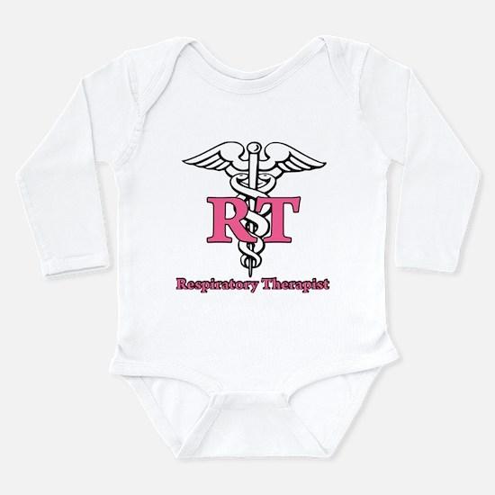 Respiratory Therapist Long Sleeve Infant Bodysuit