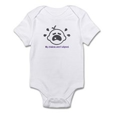 Yoga Chakras - Infant Bodysuit (Purple)