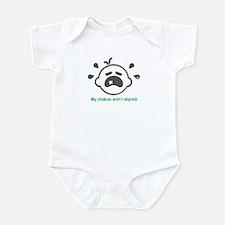 Yoga Chakras - Infant Bodysuit (Green)