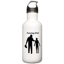 Fencing Dad Water Bottle