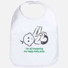 Yoga Happy Baby - Bib (Green)