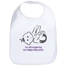 Yoga Happy Baby - Bib (Purple)