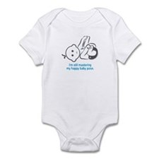 Yoga Happy Baby - Infant Bodysuit (Blue)