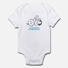 Yoga Happy Baby - Onesie (Blue)