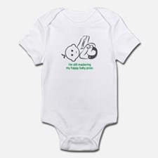 Yoga Happy Baby - Infant Bodysuit (Green)