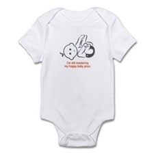 Yoga Happy Baby - Infant Bodysuit (Orange)