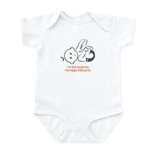 Yoga Happy Baby - Onesie (Orange)