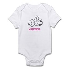 Yoga Happy Baby - Infant Bodysuit (Pink)