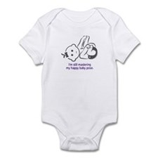 Yoga Happy Baby - Infant Bodysuit (Purple)