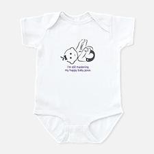 Yoga Happy Baby - Infant Bodysuit (Purple)