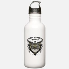 Proud Air Force Mother Water Bottle