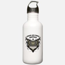 Proud Air Force Brother Water Bottle