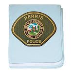Perris Police baby blanket