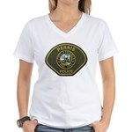 Perris Police Women's V-Neck T-Shirt