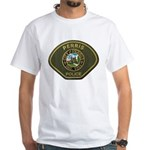 Perris Police White T-Shirt