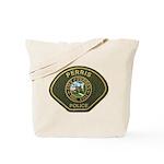 Perris Police Tote Bag