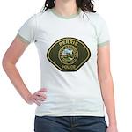 Perris Police Jr. Ringer T-Shirt