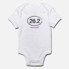 Running 26.2 - Infant Bodysuit (Pink)