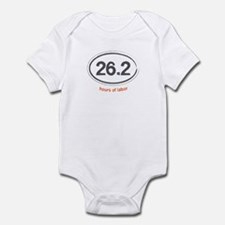 Running 26.2 - Infant Bodysuit (Orange)